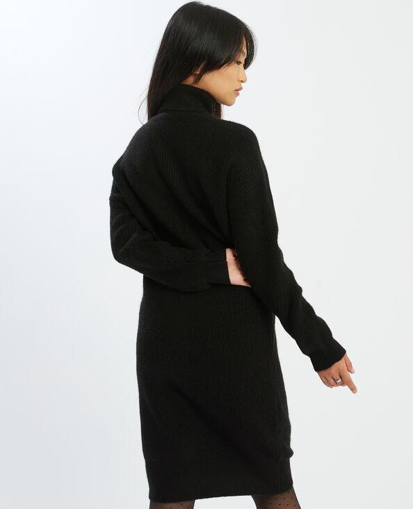 Trui-jurk met rolkraag ecru - Pimkie