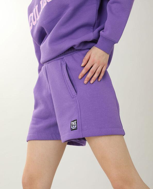 Short van molton violet