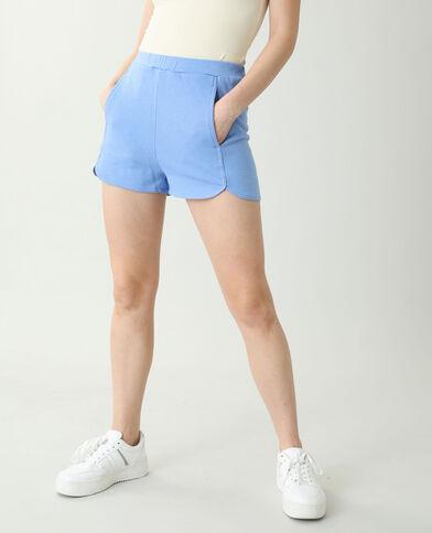 Short Lichtblauw