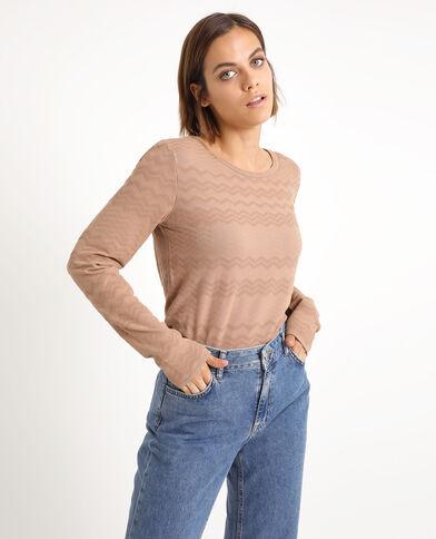 Origineel T-shirt karamel