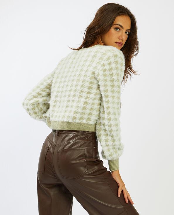Korte cardigan groen - Pimkie