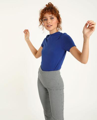 T-shirt met korte mouwen blauw