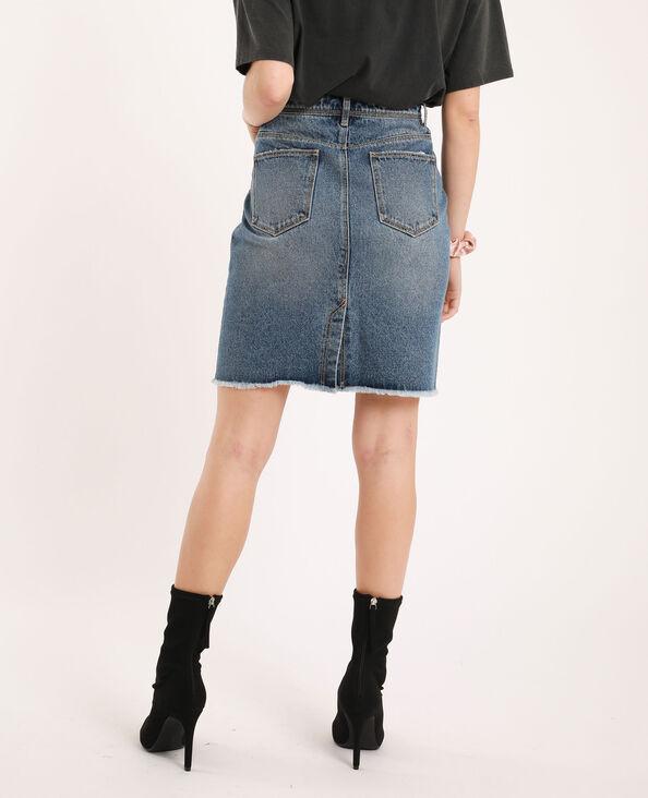 Jeansrok denimblauw