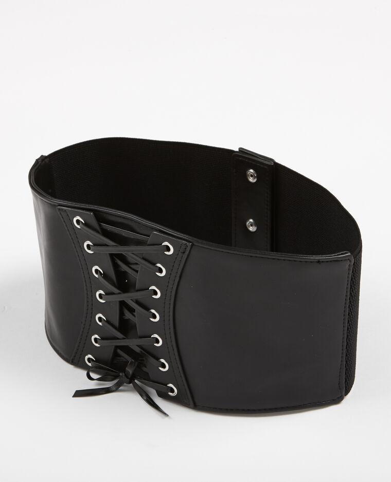 Ceinture corset noir - 904463899A08   Pimkie e897dbe4a0e