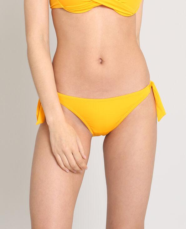 Effen bikinislip oranje