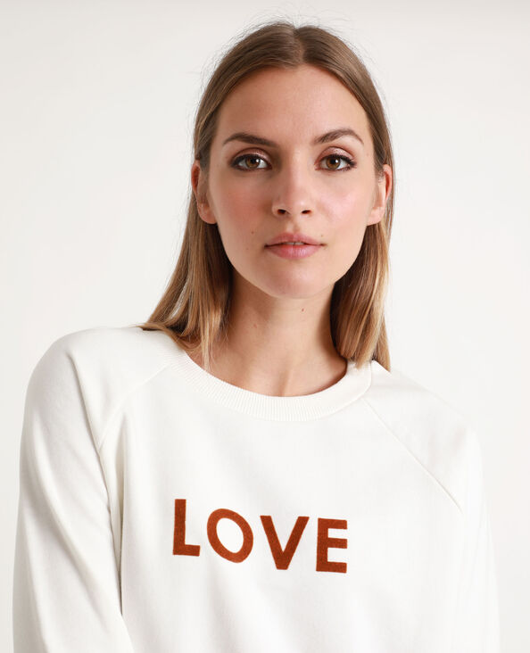 LOVE sweater wit