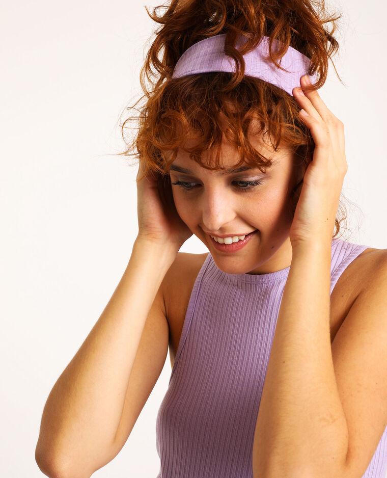 Set van 2 haarbanden roze