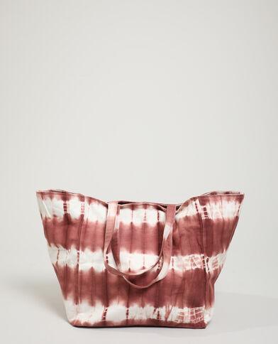 Tie-dye shopper roze - Pimkie