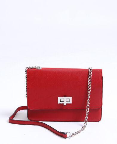 76b57689f0 Petit sac boxy rouge