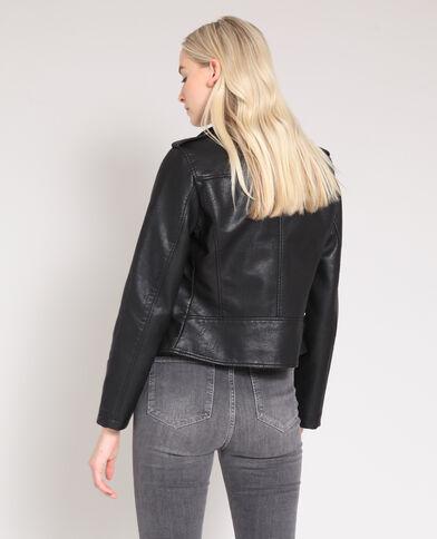 Veste perfecto faux cuir noir