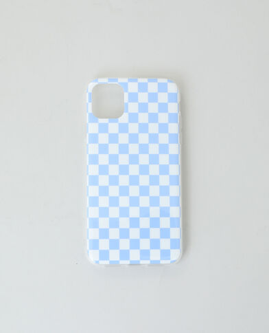 iPhone-hoes blauw