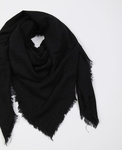 Lichte foulard zwart