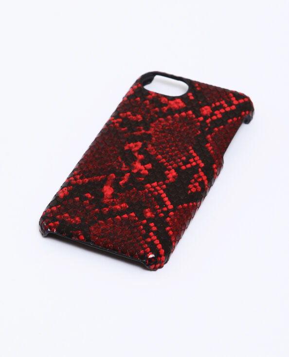 Coque python compatible iPhone rose