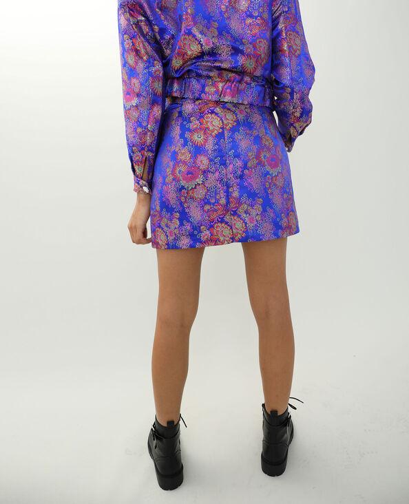 Aziatisch geïnspireerde rok blauw