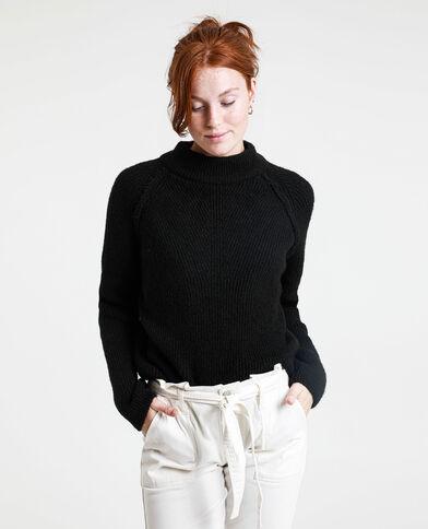 Korte trui zwart