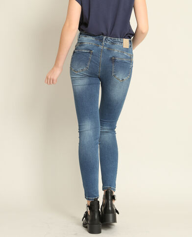 Jean push up bleu denim
