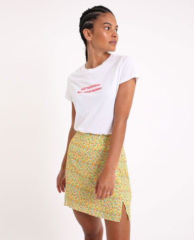 T-shirt basique écru