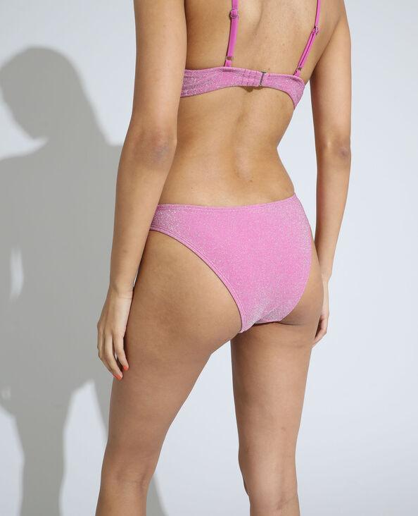 Bas de maillot culotte pailleté rose - Pimkie