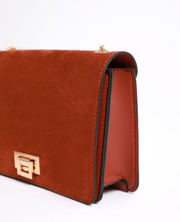 Petit sac bandoulière marron - Pimkie