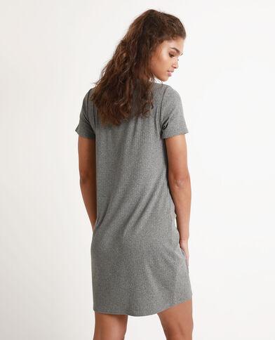 T-shirtjurk grijs
