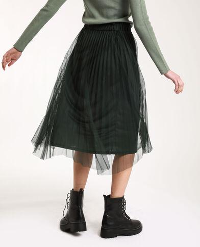 Lange rok van tule groen