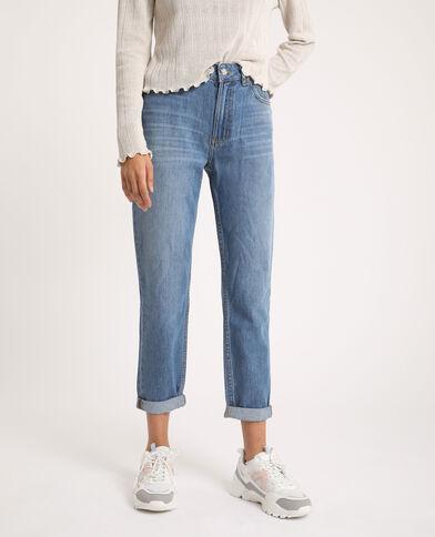 Momjeans met hoge taille Jeans blauw