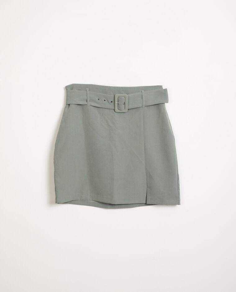 Jupe courte vert