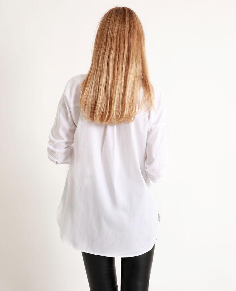 Chemise basique blanc