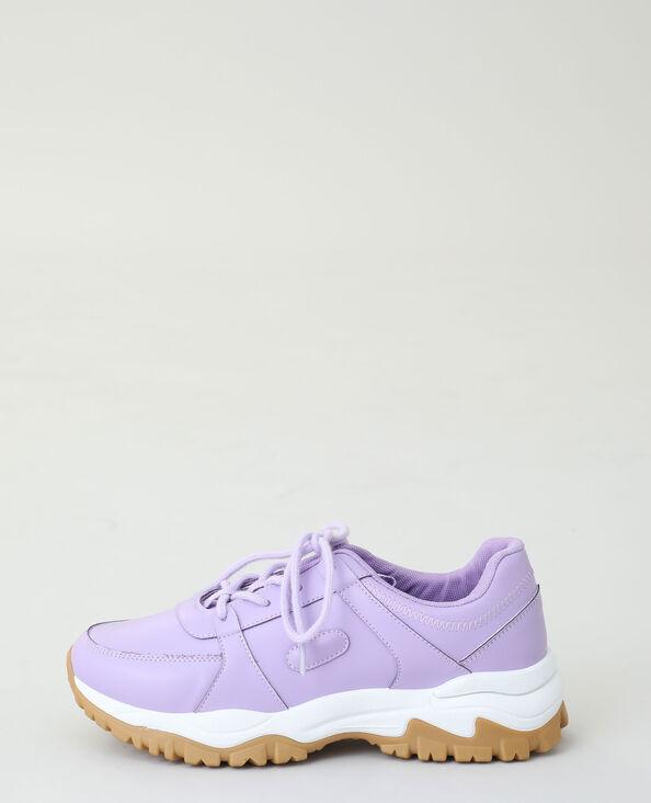 Baskets dad shoes violet - Pimkie