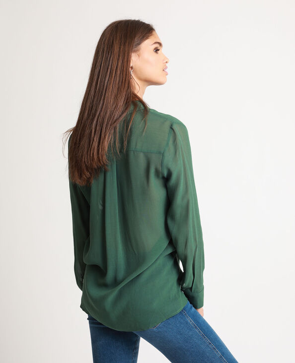 Lang hemd groen