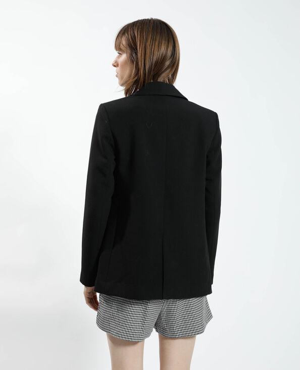 Lange blazer zwart - Pimkie