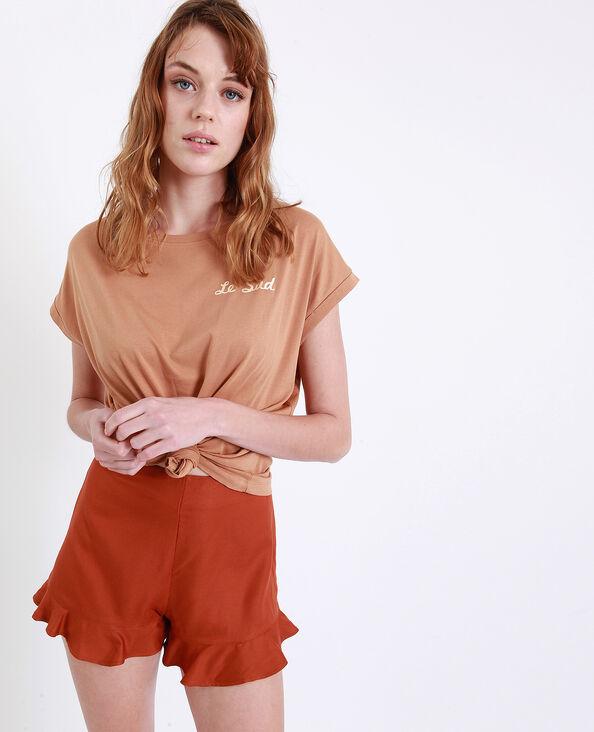 T-shirt Le Sud marron