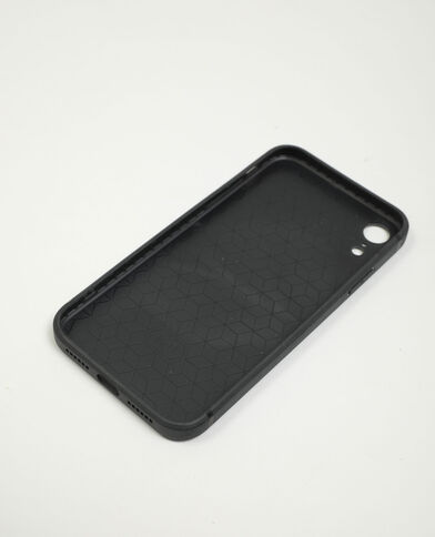 Coque zébrée compatible iPhone XR noir - Pimkie