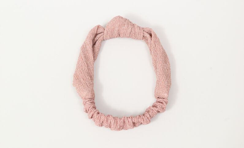 Headband glitter rose