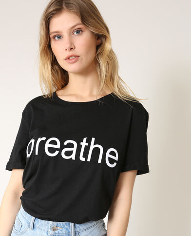 T-shirt Breathe zwart