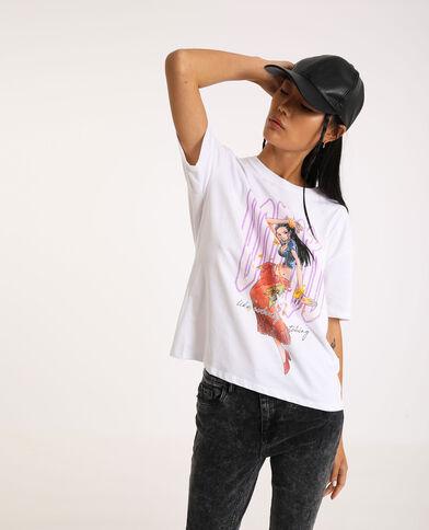 T-shirt van One Piece wit