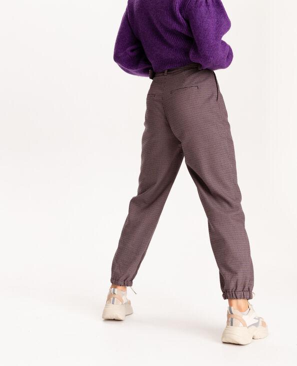 Pantalon bas resserrés marron