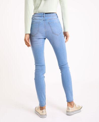 Skinny jeans met middelhoge taille Jeans blauw