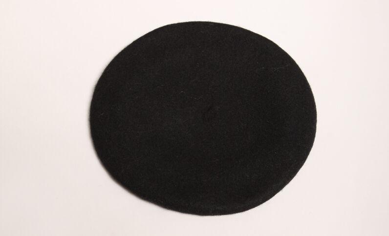 Wollen muts zwart