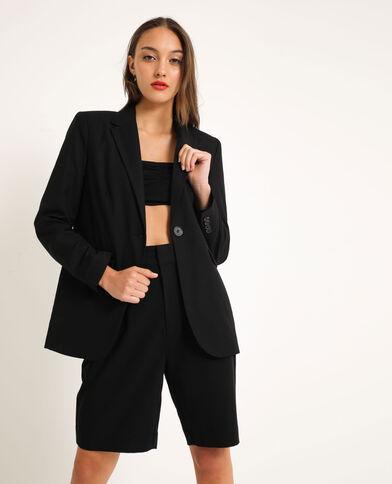 Oversized blazer zwart