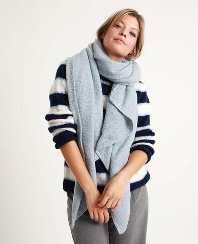 Zachte sjaal blauw