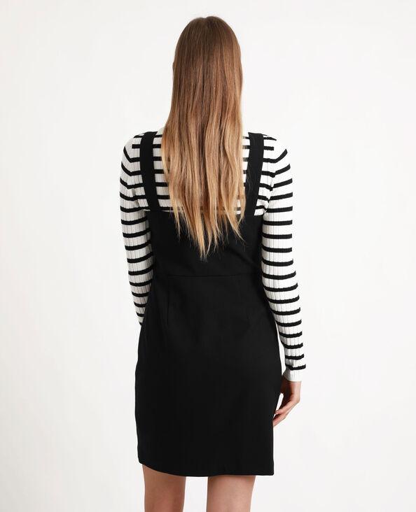 Robe zippée noir