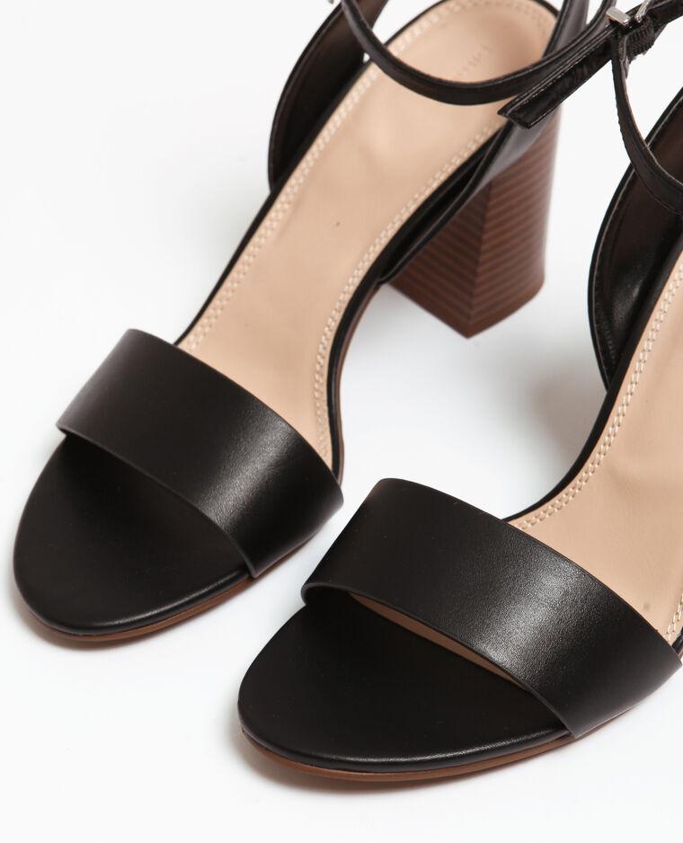 Sandales à brides noir