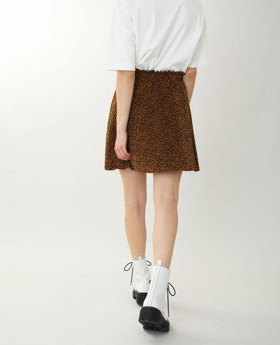 Jupe courte plissée noir - Pimkie
