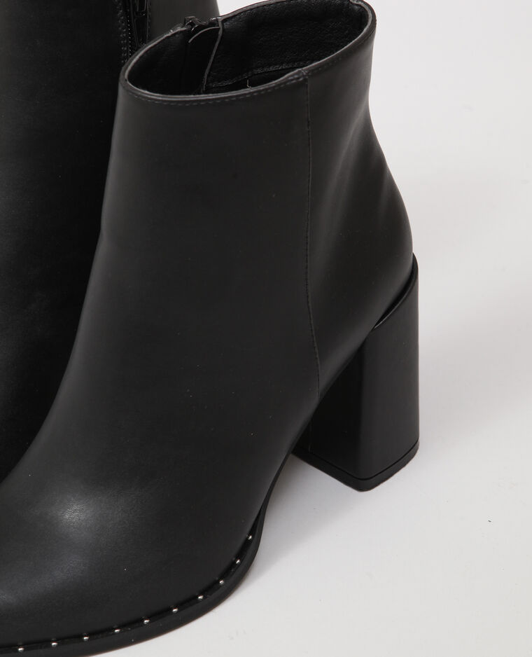 Bottines pointues noir