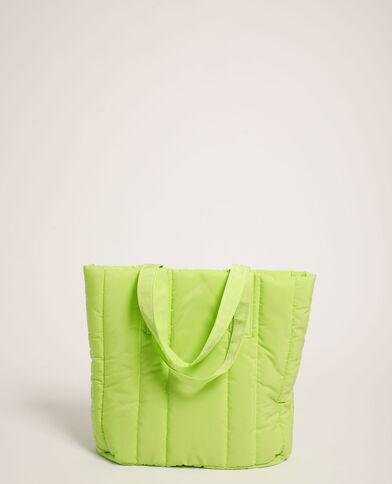 Gewatteerde shopper groen - Pimkie