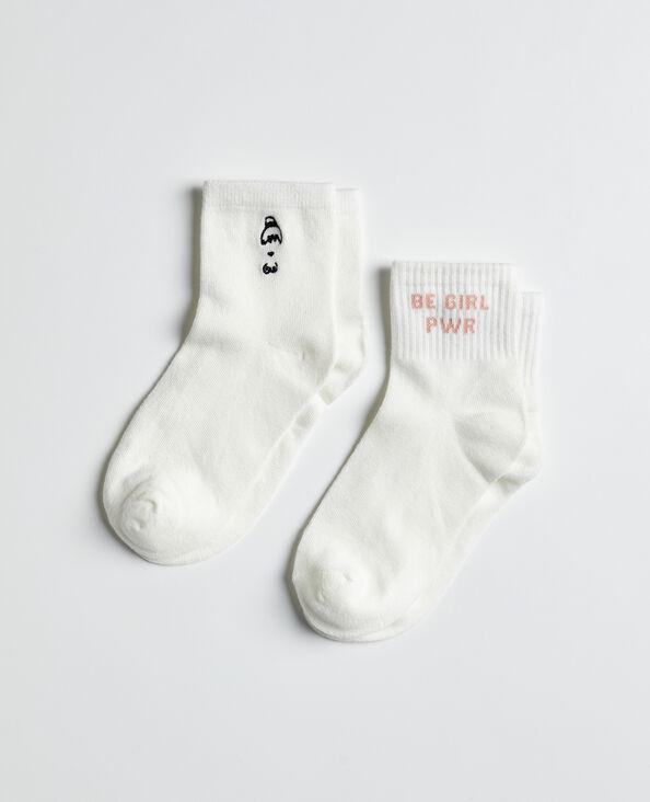 Sokken van Women's Day Every Day ecru