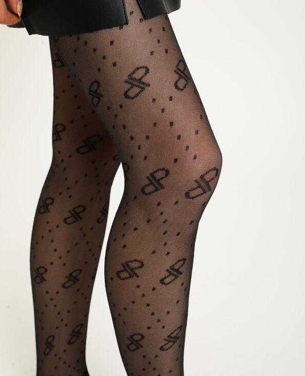 Collants fantaisie noir