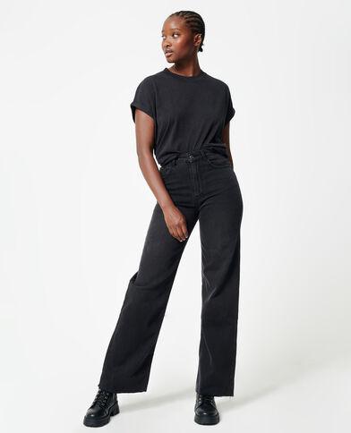 Jean droit noir - Pimkie
