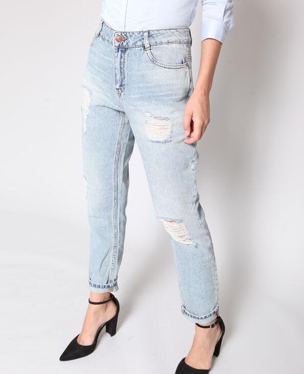Boyfriend jeans hemelsblauw